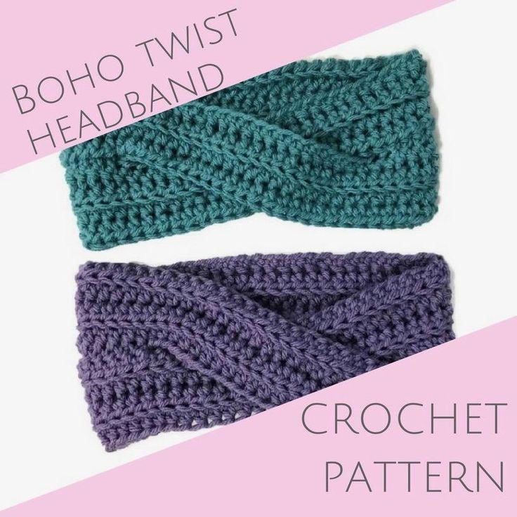 Boho Twist Headband PATTERN