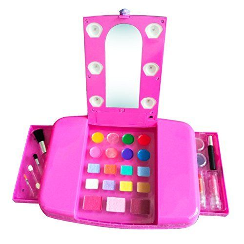 little girls makeup. from 99.89 little girls make up set kids beauty toy vanity young makeup cosmetics glamour 28 piece children up- dress paint party kit