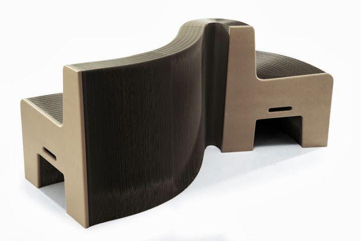 FlexibleLove – a cadeira expansível que pode ser esticada e manipulada numa variedade de formas e comprimentos.
