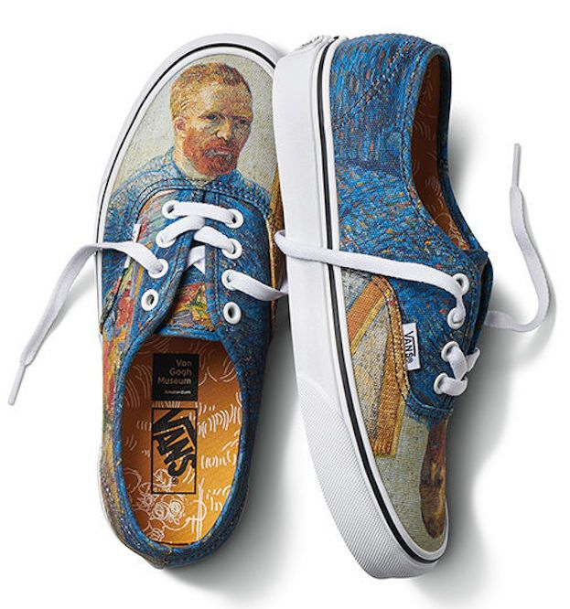 The Vans x Van Gogh Museum shoe collection: Masterpieces