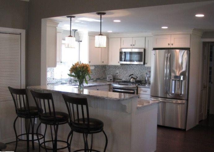 128 best White Kitchens images on Pinterest Kitchen dining - küchenwände neu gestalten