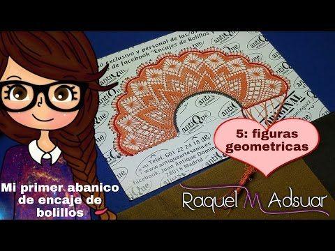 Inicio de Abanicos con Pie y Onda Modelo 1.Tutorial Raquel M. Adsuar Bolillotuber - YouTube