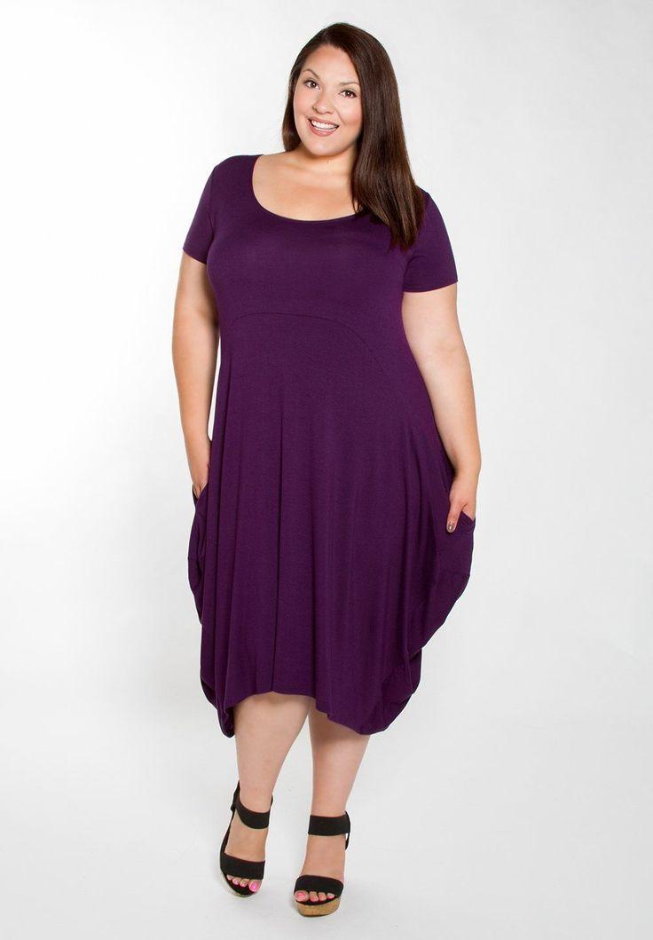 Women's Plus Size Dress | Celia Pocket Dress | SWAK Designs
