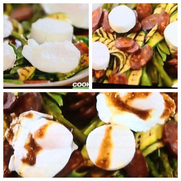 Siba's table:  warm market salad