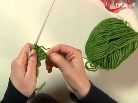 2) - Lavorare a maglia. Dritto e rovescio