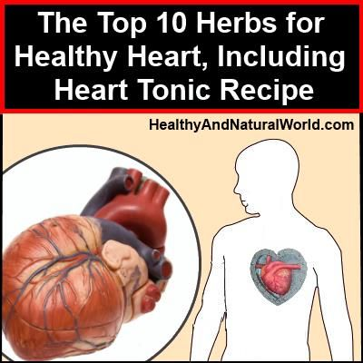 The Top 10 Herbs for Healthy Heart, Including Heart Tonic Recipe