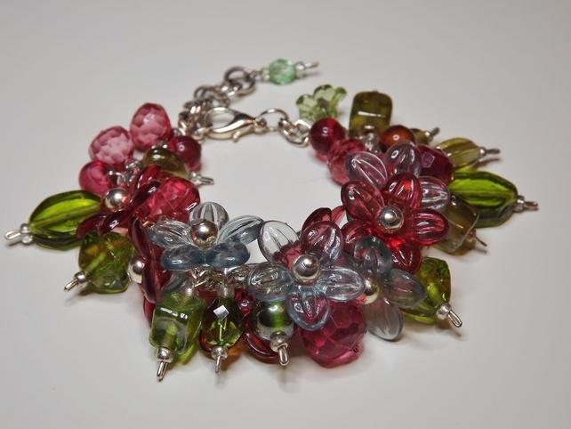 'Flowers In My Garden' Bracelet £10.00