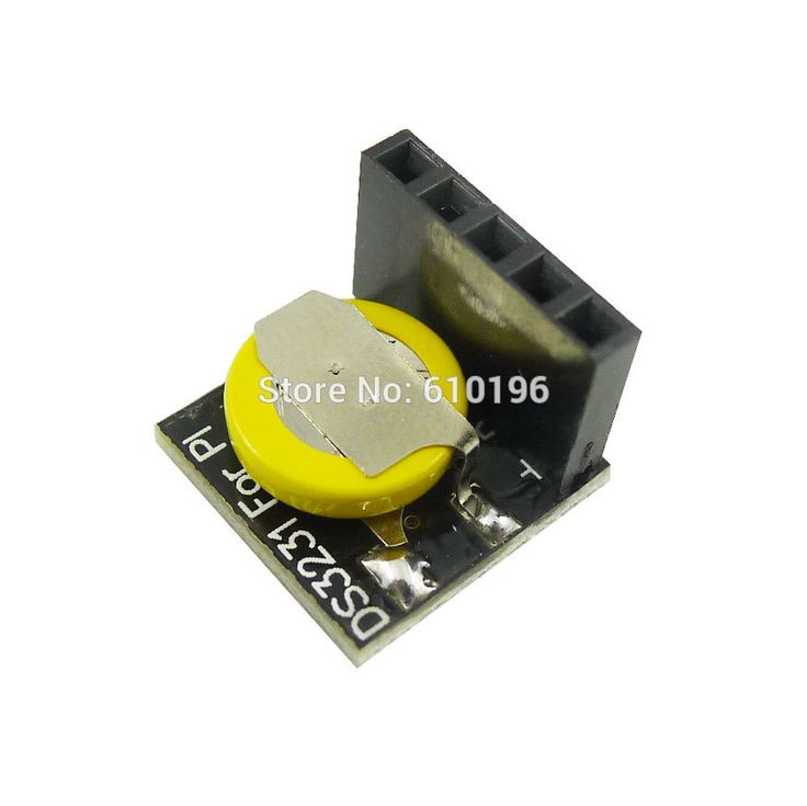 DS3231 Real Time Clock Module 3.3V/5V For Raspberry Pi C Compatible For Arduino