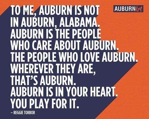 What Auburn is.