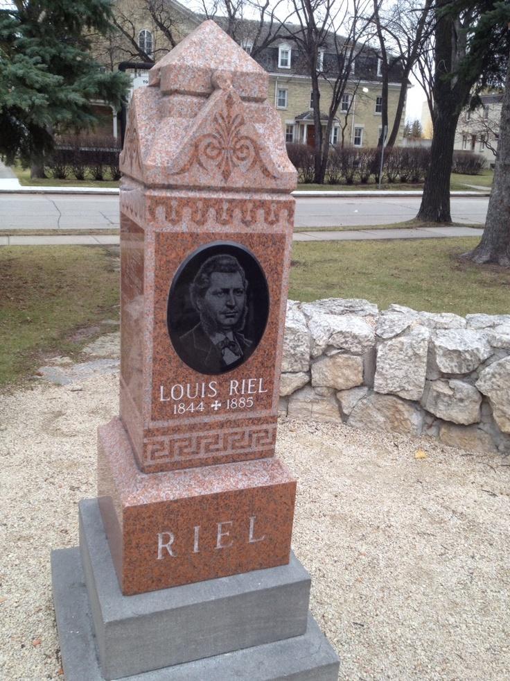 Louis Riel. Manitoba history lesson #GILOVEMANITOBA
