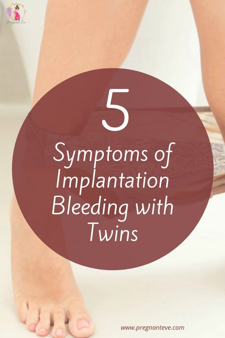 Implantation Bleeding With Twins [How long does IB last with