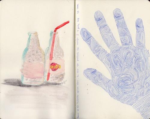 Cocta!Fingerprints on our hand. by Kaja Zalokar
