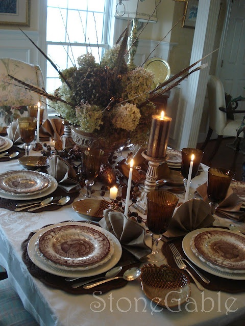 17 Best Images About Fall Tablescape On Pinterest