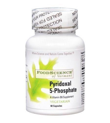 Foodscience Of Vermont Pyridoxal 5 Phosphate 60 capvegi