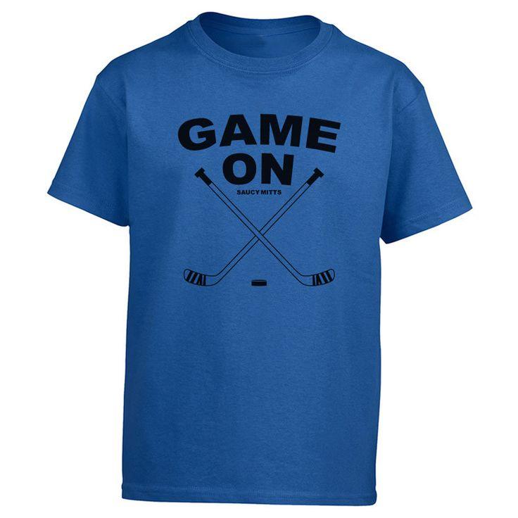Game On Kids Hockey Shirt