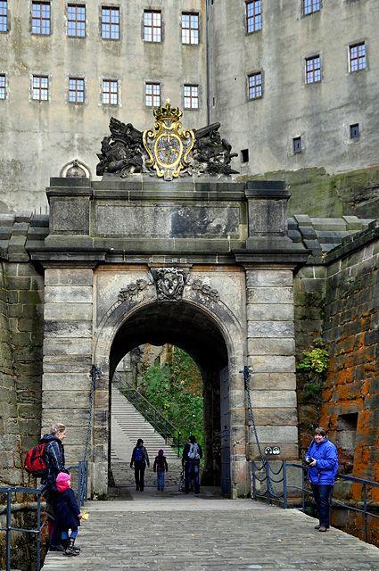 Wanderung zur Festung und Stadt Königstein - Entdecke Sachsen