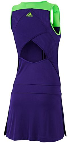 adidas #tennis dress with a perfectly cool cut-out back