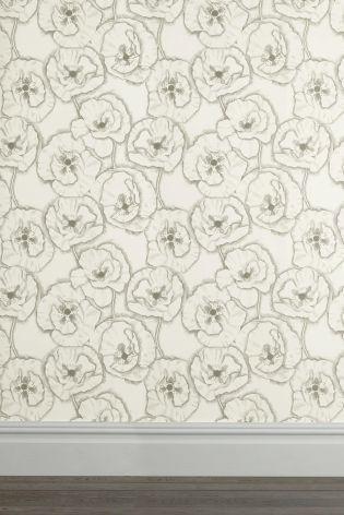 Graphic Poppy Wallpaper
