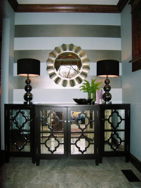 Foyer Mirror Cabinet : Mirrored cabinet in foyer be a good idea but this