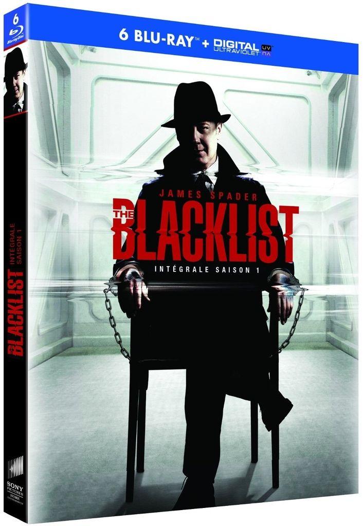 The blacklist saison 1 en dvd/blu-ray/digital ultraviolet à 25€ only !
