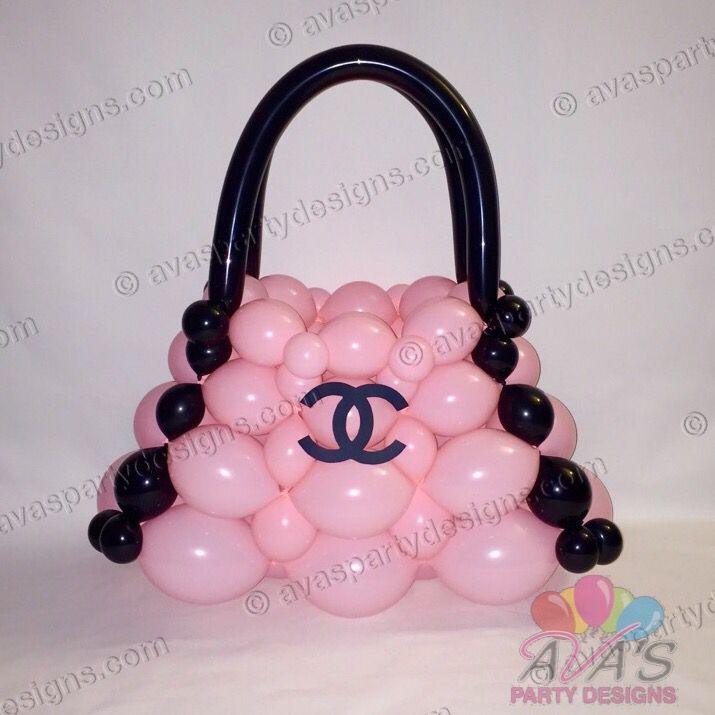 Coco Chanel Balloon Bag #partywithballoons   Balloon ...