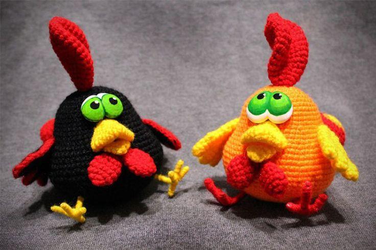Сrochet rooster free amigurumi pattern, Chinese New Year 2017, #haken, gratis patroon (Engels), haan, knuffel, speelgoed, Chinees Nieuwjaar 2017, #haakpatroon