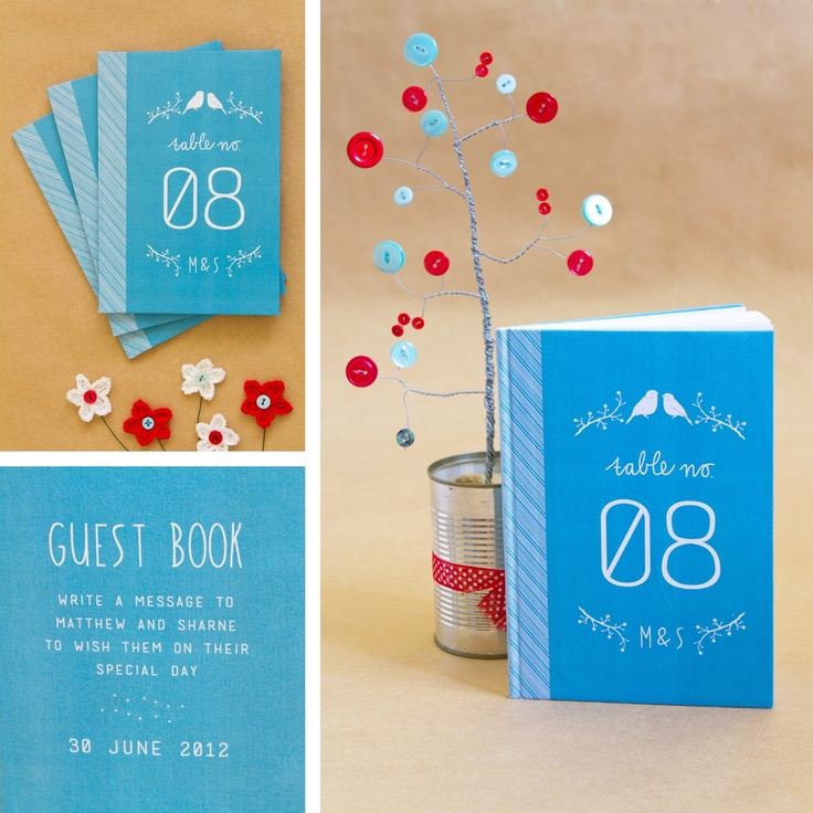 Bells & Whistles - Table book numbers