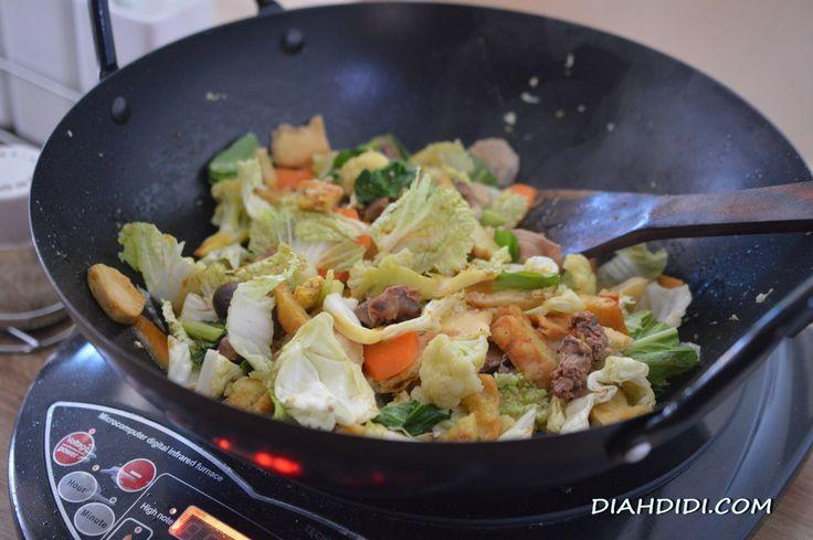 Diah Didi's Kitchen: Cap Cay Jowo