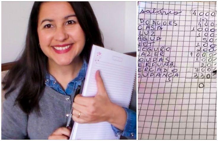 COMO  POUPAR- MEU CONTROLE DE GASTOS  NO PAPEL (FÁCIL)-  DANIELLA GORACCI