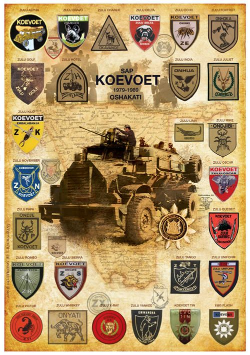 KOEVOET. South African / Rhodesian Bush War.