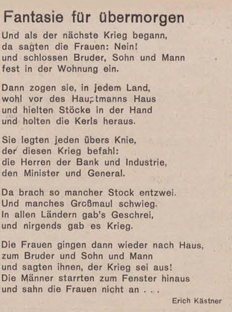 Kästner Sprüche | openbm.info