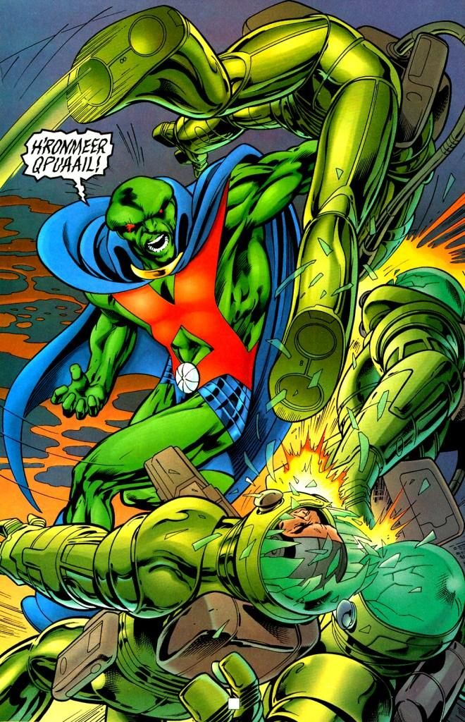 110 best The Many Faces of Martian Manhunter images on Pinterest ...