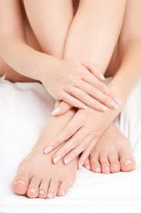 Which is more important..... your Hands or your Feet?  I think both is important as well as taking care of it and a good and proper grooming.