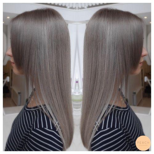 Granny hair color - grå hårfärg