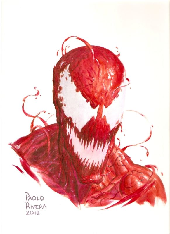 Paolo Rvera Carnage, in CallumWilson's Sketches Comic Art Gallery Room - 955633