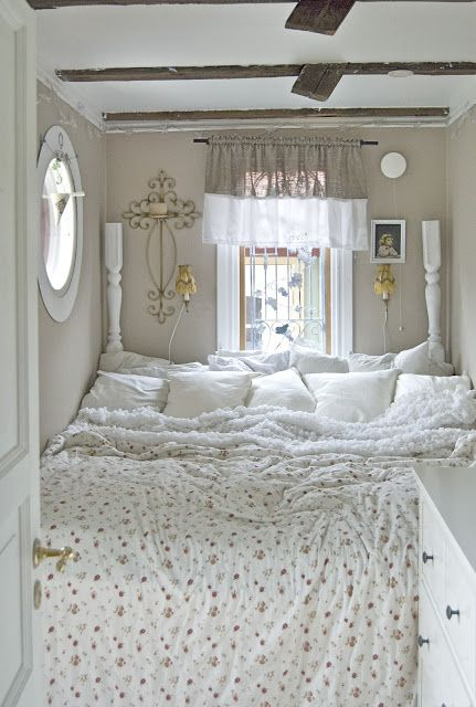 I don't know why I have such a thing for tiny spaces, but I love this...