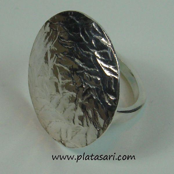 Anillo de plata Textura