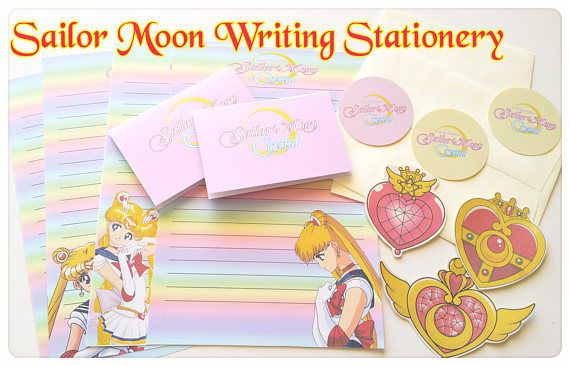 Sailor Moon writing Set notepad stationary CHIBIUSA Sticker,Magical girl Card  in Business, Stationery, Paper Products | eBay!