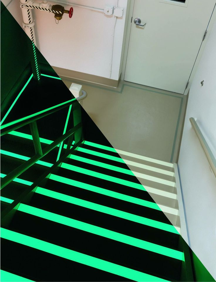 Floormat Glow In The Dark Safety Grip Tapes Is Self Adhesive Plastic Base  Photoluminescent Tape