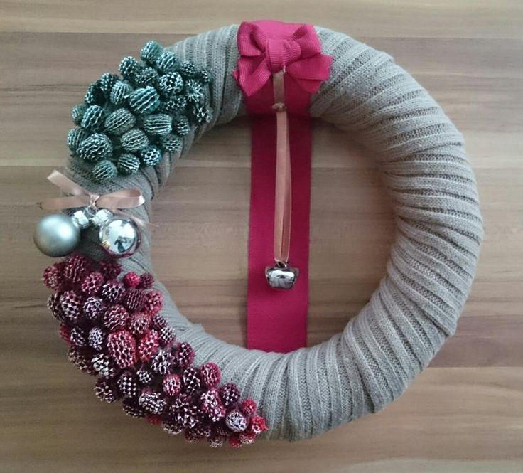 Karácsonyi ajtó kopogtató! Christmas wreath!