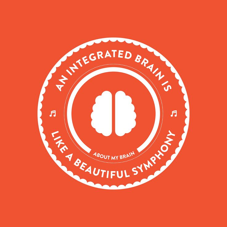 Integration refers to the effective functioning of the various components of the #brain and body that result in a healthy system.