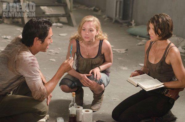 Maggie From Walking Dead | Image - Beth, Maggie, and Glenn.jpg - Walking Dead Wiki