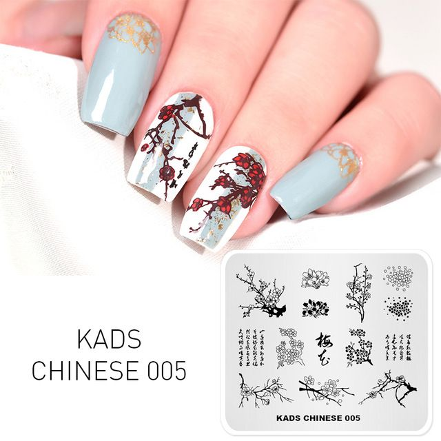 Kads New Arrival Chinese Design Template Stencil Chinese