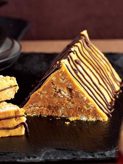 Bal kabaklı mozaik pasta Tarifi - Tatlı Tarifleri Yemekleri - Yemek Tarifleri