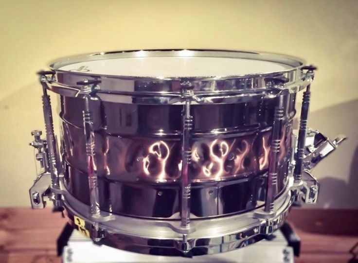 Pearl 14x8 Free Floating steel shell