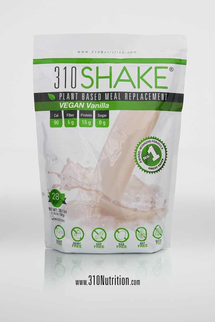 310 shake ingredients list / Raw meal replacement shakes