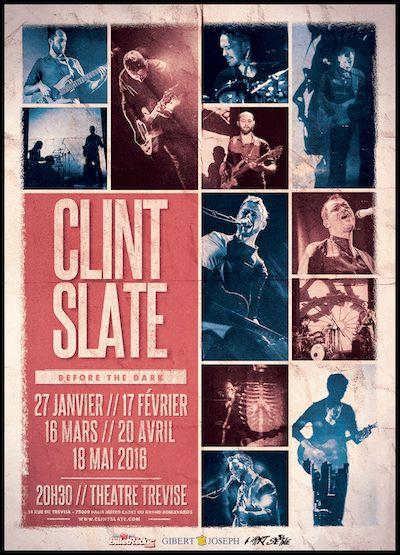 Résultats concours Clint Slate : 10 albums + 10 places de concert gagnées