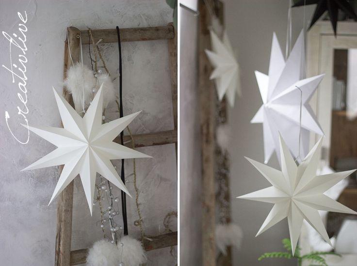 creativLIVE: DIY Papiersterne und weihnachtlicher Blumenstrauß