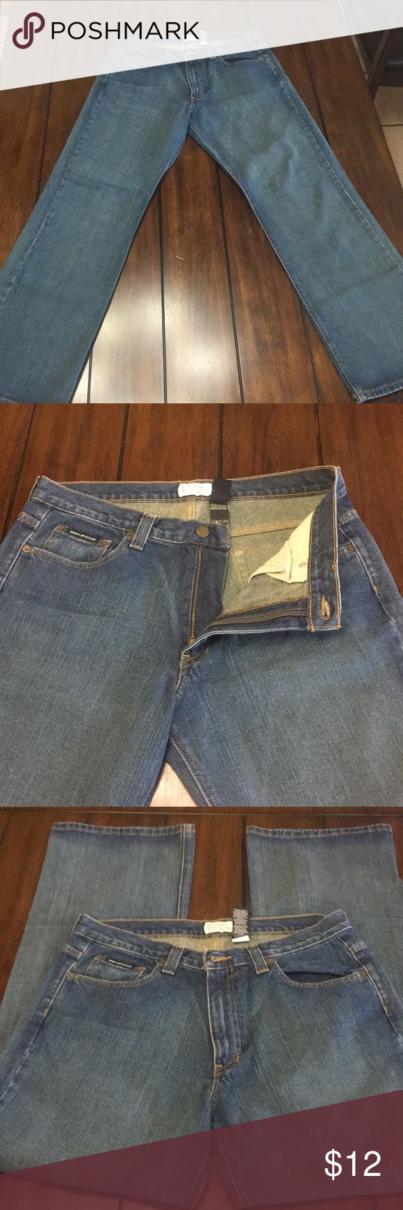DKNY Mens Jeans DKNY Mens Jeans. Straight leg. Size 33X32. In good used condition. Dkny Jeans Straight