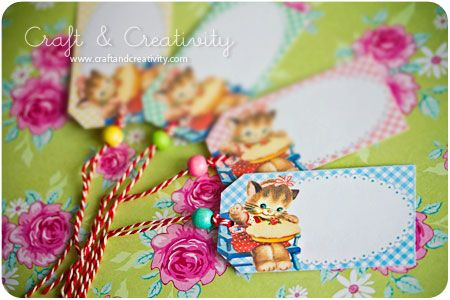 Dagens pyssel, presentetiketter -Craft of the Day, gift tags | Craft  Creativity